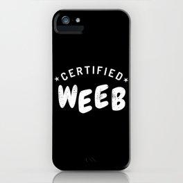Weeb Trash I Weeaboo Gift iPhone Case