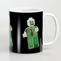 zombie Mugs featuring Zombie by Emma Harckham