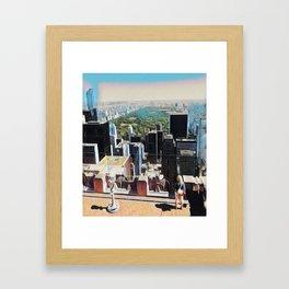 Woman Wonders Framed Art Print