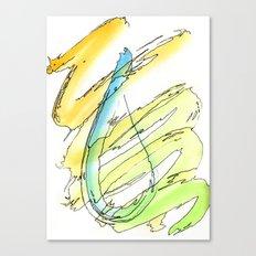 Flow Series #15 Canvas Print