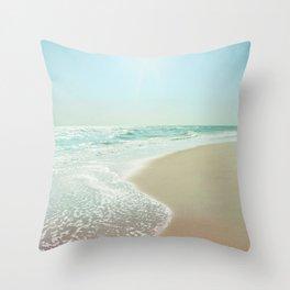 Good Morning Beautiful Sea Throw Pillow
