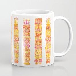 Tiki Totems – Orange Ombré Coffee Mug
