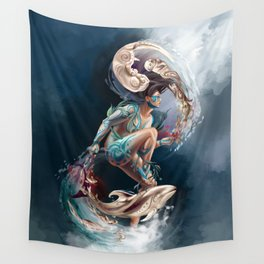 Sedna: Inuit Goddess of the Sea Wall Tapestry