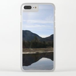 High Peaks Upstate New York Lake Placid Clear iPhone Case