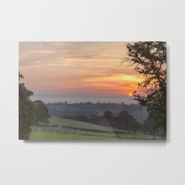 Severn Sunrise Metal Print