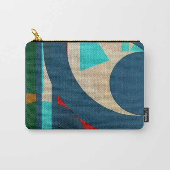 A Lion in the Moonlight Carry-All Pouch