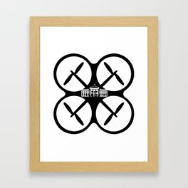 Droning On Framed Art Print