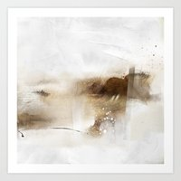 untitled works on paper. Lithograph, graphite, and ink Art Print