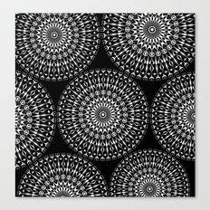 Geometries in white. Canvas Print