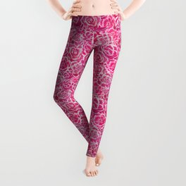 Rioting Peonies Leggings