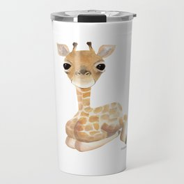 Giraffe large long-necked animal safari wilderness Gift Travel Mug
