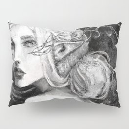 Lavellan black and white Pillow Sham