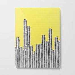 Watercolor of cacti XVIII Metal Print