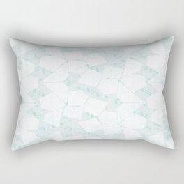Ghost Town (Aqua Glow) Rectangular Pillow