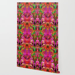 Twins In Psychedelia Wallpaper