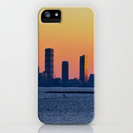 Humber Bay sunset iPhone Case