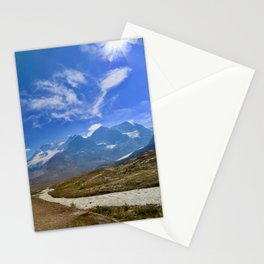columbia icefield in summer, 2017 Stationery Cards