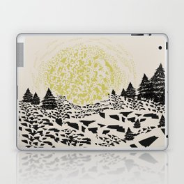 Trippy hills Laptop & iPad Skin