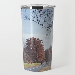Fall in the City | Nature Autumn Photography of Trees in St. Louis Forest Park During Fall Travel Mug