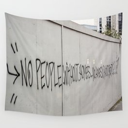 No people without homes, no homes without people.... Wall Tapestry