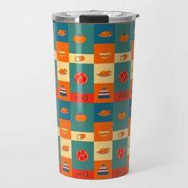 Dinner pattern Travel Mug