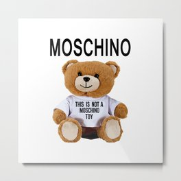 Toy Moschino Metal Print