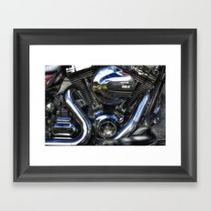 Power and Pipes Framed Art Print