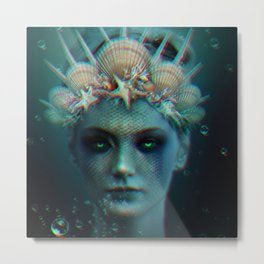 The Siren Metal Print