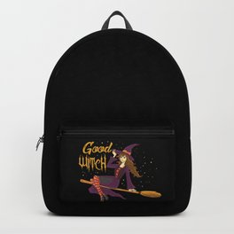 Good Witch Halloween & Witchcraft Party Gifts Good Girl Backpack