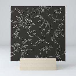 Hand Drawn Floral Mini Art Print