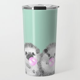 Playful Twins Hedgehog Travel Mug