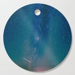 Desert Summer Milky Way Cutting Board