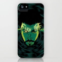 Mind-control powers in good use iPhone Case