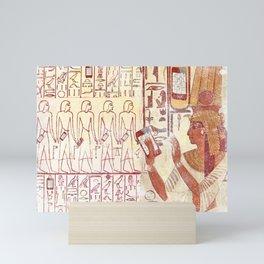 Ancient Egypt smartphones Mini Art Print
