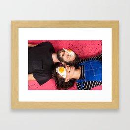 Diet Cig Framed Art Print