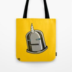 Yeticorn Comic Heroes series: Iron Maaaaan Tote Bag