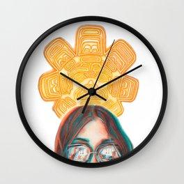 Formline Sun Wall Clock