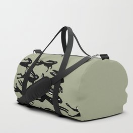 rabbits in the race Duffle Bag