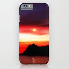 Moonlit Water color  Slim Case iPhone 6s