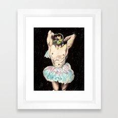 Master Chief Ballerina.  Framed Art Print