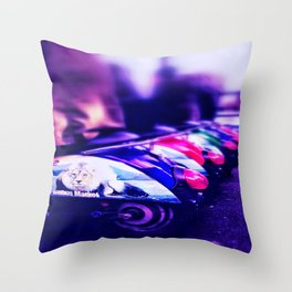 CamdenTown Vespastyle sitting Throw Pillow