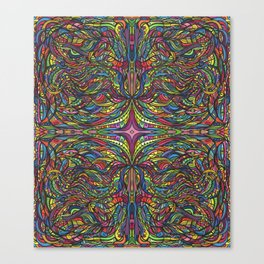 Stained Glas Canvas Print