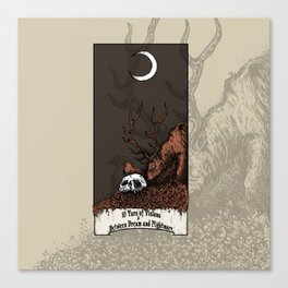 10 Yars of Visions  Between Dream and Nightmare Canvas Print