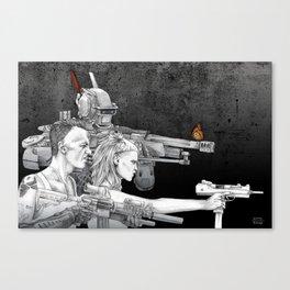 Chappie Canvas Print