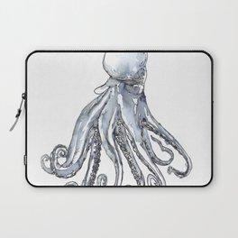 Octopus Watercolor Sketch Laptop Sleeve