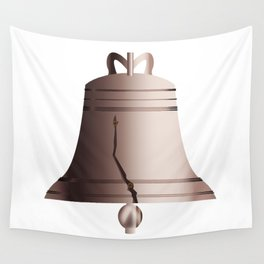 Liberty Bell With Crack Wall Tapestry
