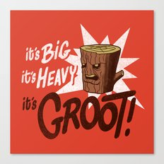 It's Groot Canvas Print
