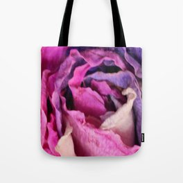 Vibrant Dried Rose Tote Bag