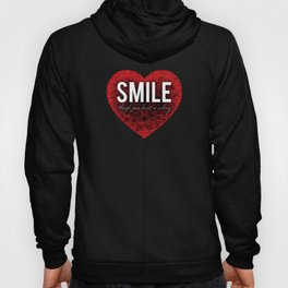 02. Smile though your heart is aching Hoody