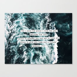 Jeremiah Ocean Canvas Print